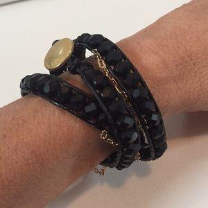 Handmade Jewelry - Beautiful Leather Wrap Bracelet